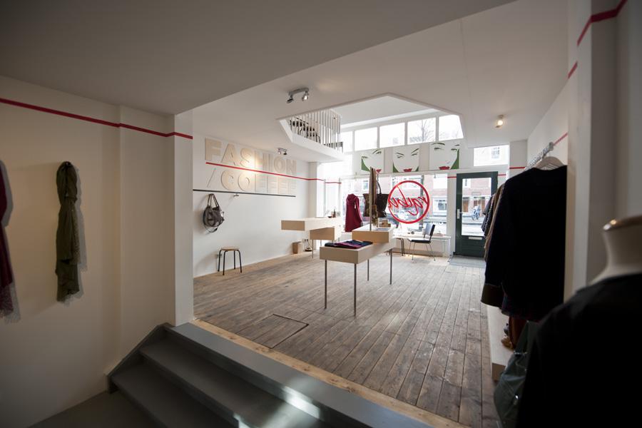 Interieur Kledingwinkel Raibu – Menno Schmitz: Multi-disciplinary design