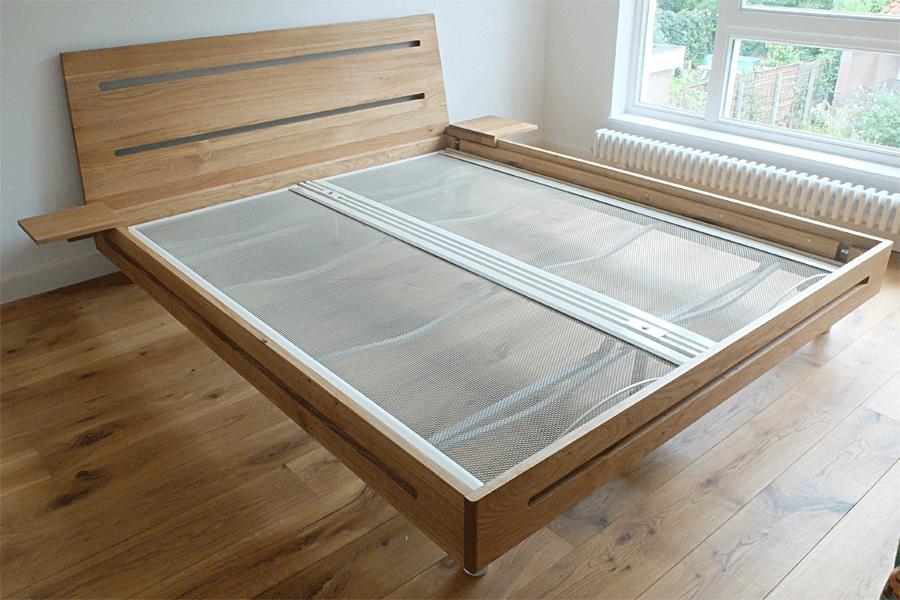 Wooden bed mega deals and coupons - Massief houten platform bed ...
